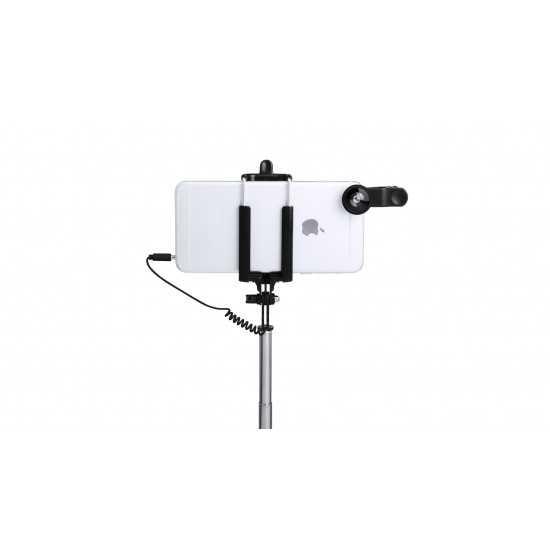 Set Perche selfie avec Lentilles Altum Perche selfie personnalisé