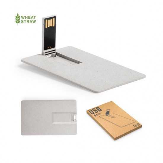 Clé USB écologique extra Platet Glyner 16GB Carte usb personnalisée