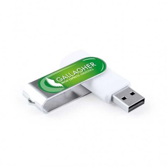 Clé USB Laval Logo Doming 16Gb Clés usb publicitaires
