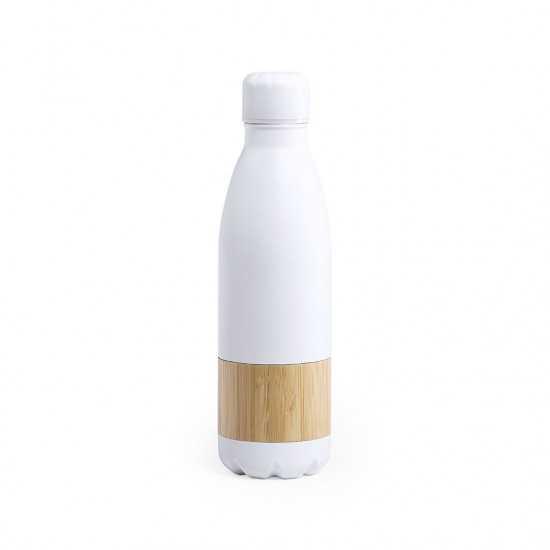 Gourde inox bambou Syrma Gourde publicitaire