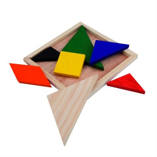 Jeux enfant Puzzle publicitaire tangram