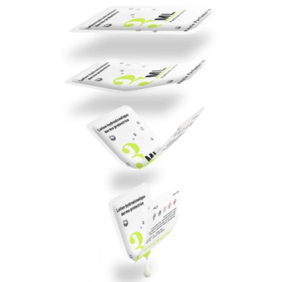 Lingette individuelle premium Lingettes publicitaires