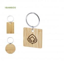 Porte-Clés bambou personnalisé Sonek Porte clé Bois personnalisé