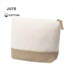 Trousse en jute coton naturel Tays Nécessaire publicitaire