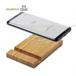 Chargeur Bambou sans fil smartphones Vartol Chargeur Sans Fil personnalisé