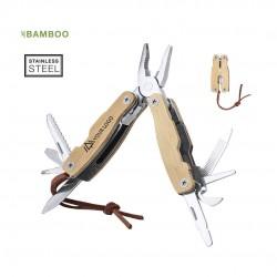 Couteau Multi-fonction bambou Folnax Outils publicitaires