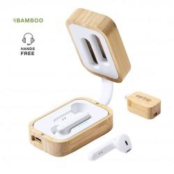 Ecouteurs intrauralde chargeur Bambou Tresan écouteurs sans fil personnalisés