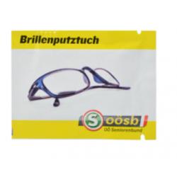 Lingettes nettoyantes lunettes Lingettes publicitaires