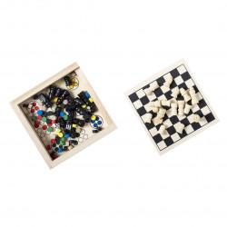 Set jeu échec dames Parchess Jouets jeux publicitaires
