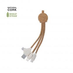 Câble chargeur USB en Liège Stuart Cable usb personnalisé