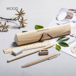 Trousse en bois écologique Palermo Trousse publicitaire