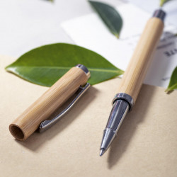 Stylo Roller en bambou Tamirox Stylos écologiques