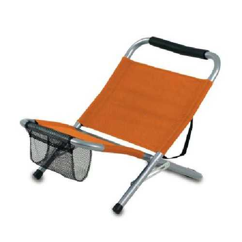 Chaise publicitaire mediterráneo Camping