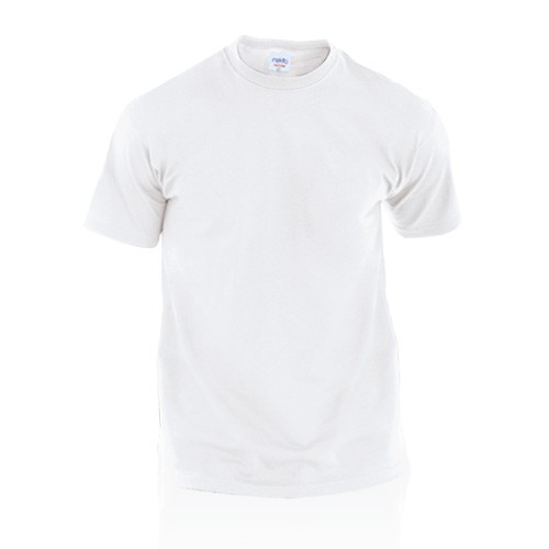 T-shirts publicitaires T-shirt adulte blanc publicitaire hecom