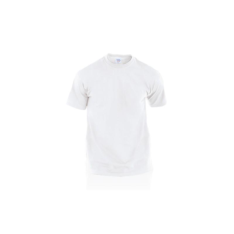 T-shirt adulte blanc publicitaire hecom T-shirts publicitaires