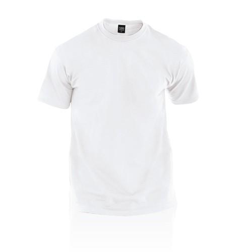 T-shirts publicitaires T-shirt adulte blanc publicitaire premium