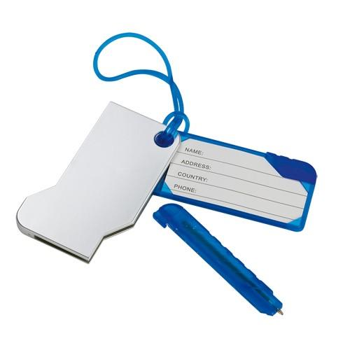 Identificateur valise publicitaire yeq Etiquette bagage publicitaire